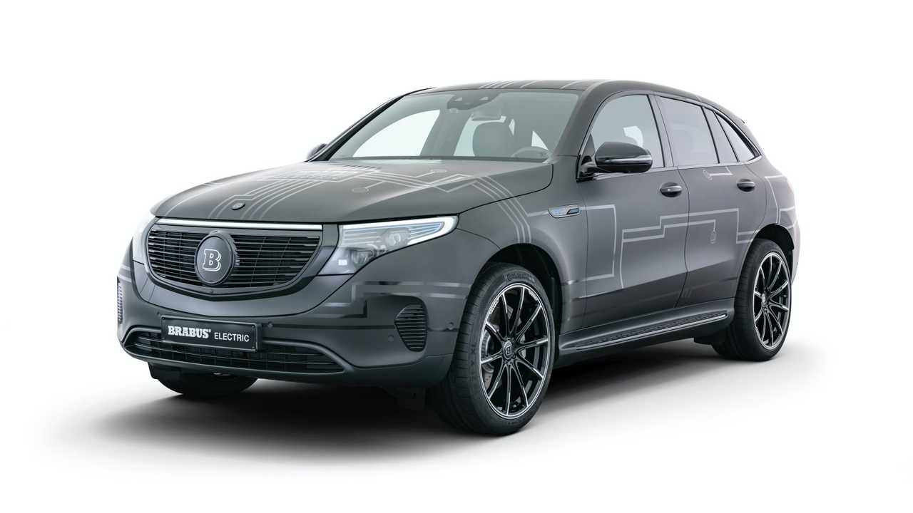 Mercedes-Benz EQC by Brabus