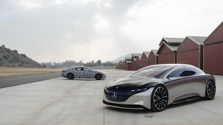 Esportivo elétrico de luxo, Mercedes-Benz EQS terá versão AMG de 600 cv