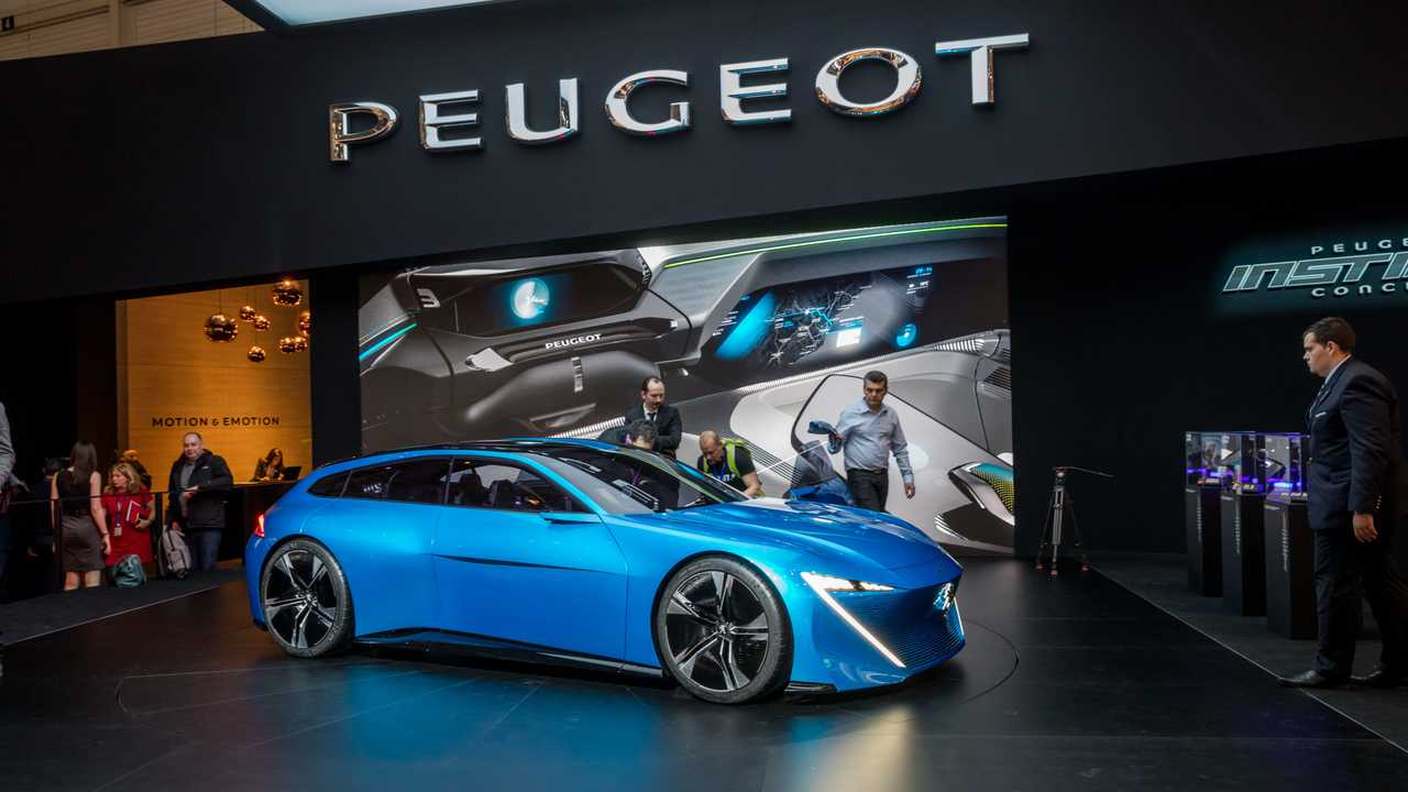 Peugeot Instinct Concept at Geneva Motor Show 2017
