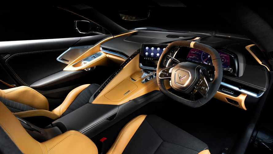 Chevrolet Corvette C8 reveals right-hand-drive cabin