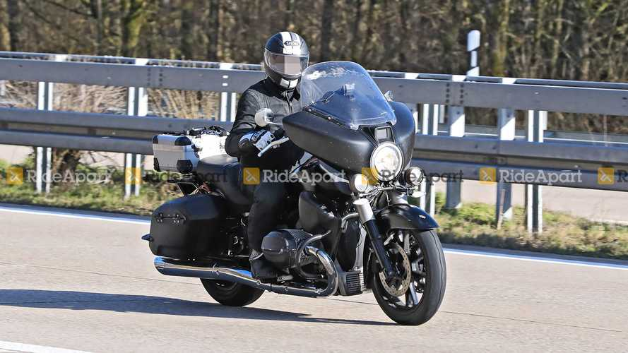 Upcoming BMW R18 With Fairing Could Be Called Transcontinental