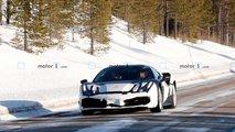 Ferrari 488 Pista Hybrid Spy Photos