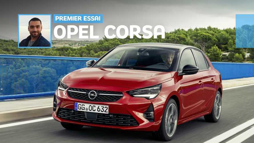 Essai Opel Corsa (2020) - Plaisir de conduire garanti