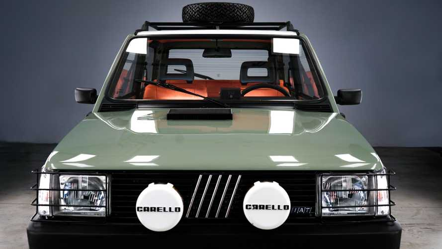 "Fiat Panda 4x4, all'asta per 24 ore il ""Pandino Jones"""