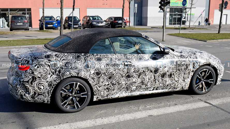 2021 bmw 4 series convertible new spy photo  motor1