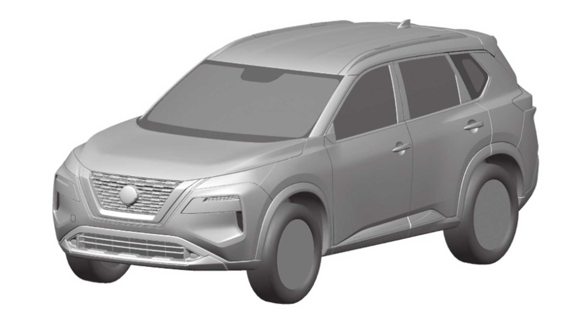 Posibles bocetos Nissan X-Trail 2020