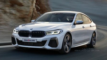 2021 BMW 6 Series GT facelift rendered after spy shots