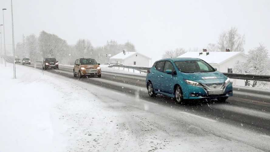 Winter EV Range Test With 20 Cars Reveals Best EVs For Cold Weather