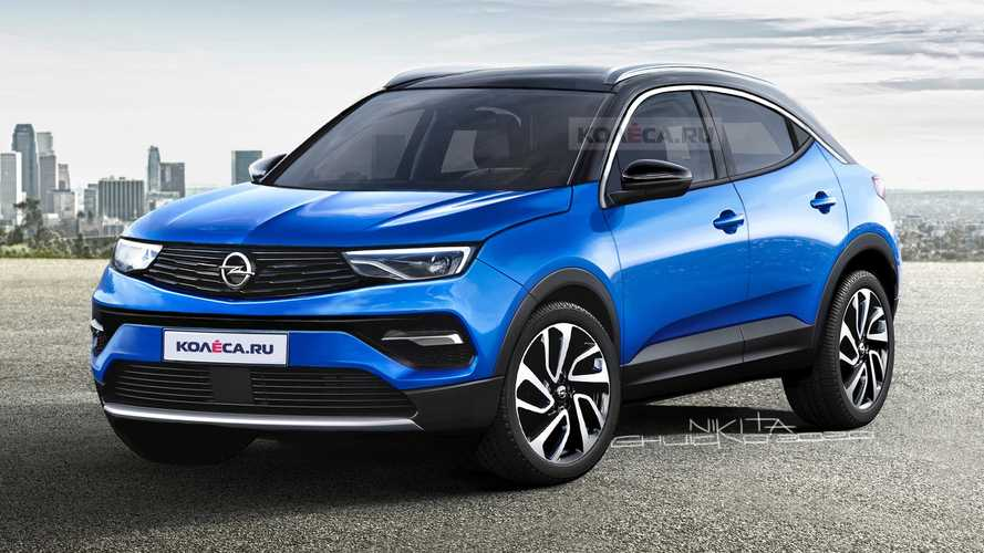 Opel Mokka 2021 Renderings