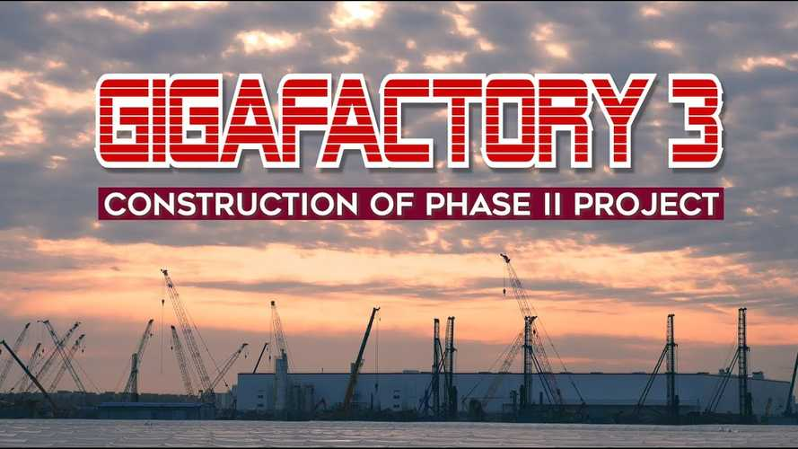 Tesla Gigafactory 3 Construction Momentum Amazes: Video
