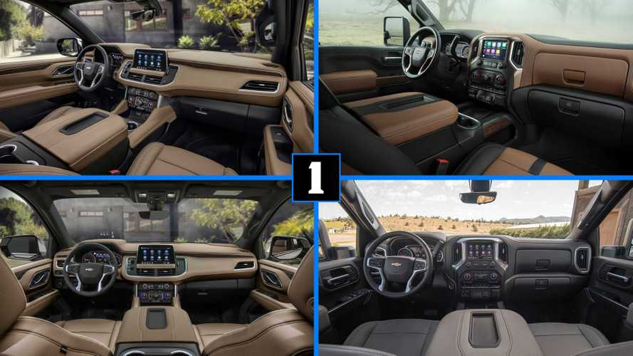 2021 Tahoe And Suburban's New Interior Looks Nothing Like Silverado's