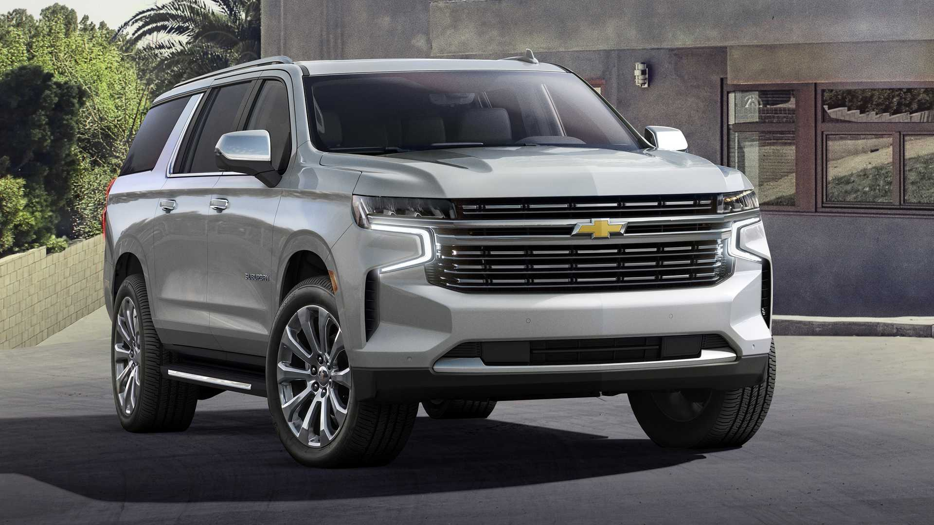 2021 Chevy Suburban Z71 Pricing