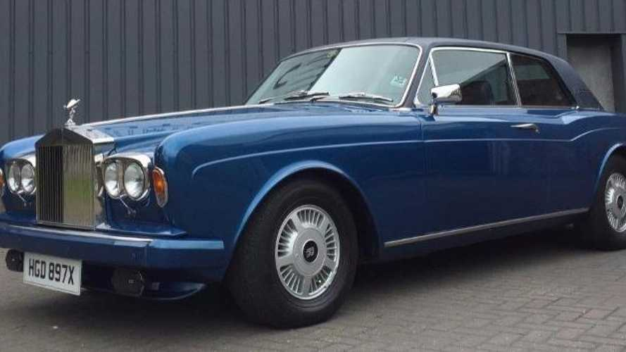 Star Wars R2-D2's Rolls-Royce Corniche for sale