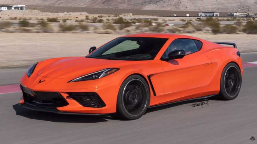 2020 Chevy Corvette C8 Would Look Great With Front-Engine Layout