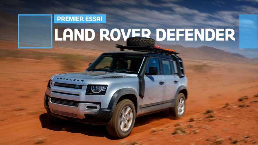 Essai Land Rover Defender - À l'aventure !