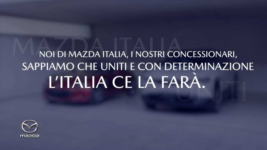 """Mazda, una campagna TV e web per l'Italia che """"ce la farà"""""""