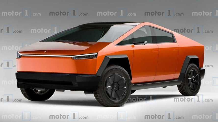 Festése nem lesz, de mégis jöhet színesben a Tesla Cybertruck