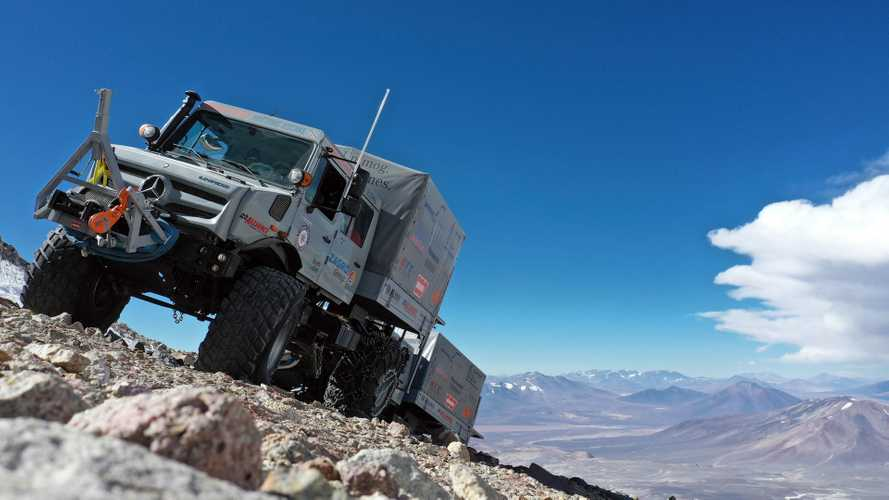 Mercedes-Benz Unimog establece récord de altitud