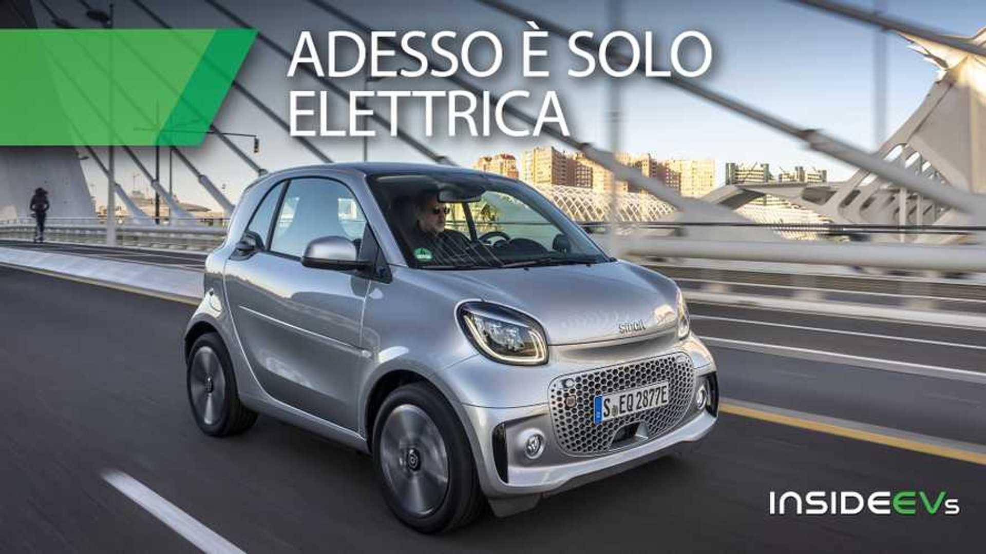 Smart EQ, ecco come va la nuova citycar soltanto elettrica
