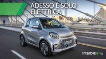 nuova smart eq prova citycar soltanto elettrica