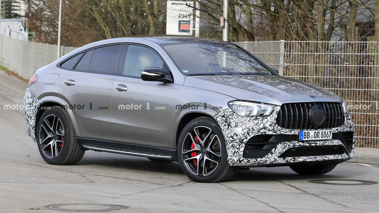 2021 Mercedes-AMG GLE 63 Coupe spy photo