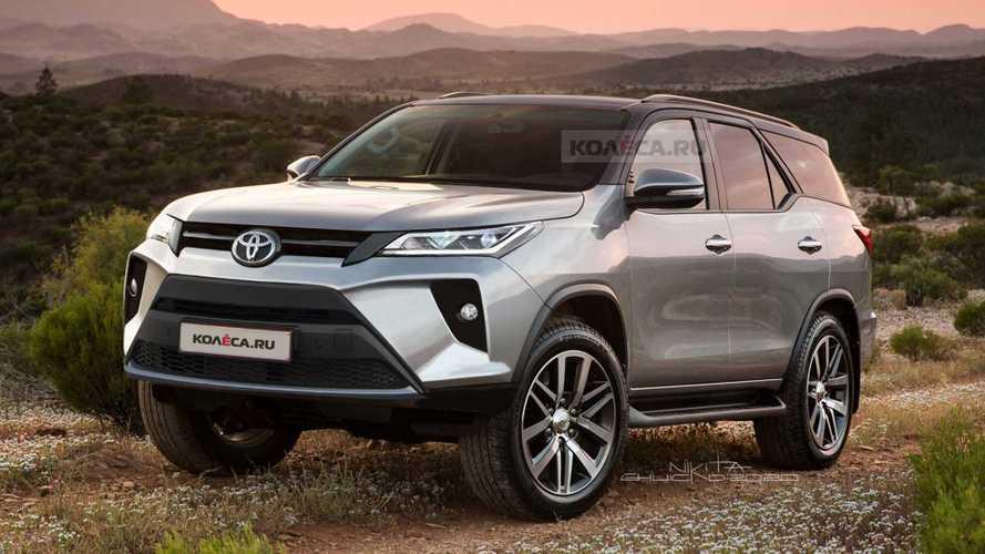 Novo Toyota SW4 2021 ganha projeção após flagra de versão definitiva