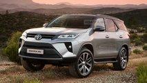 Projeção - Toyota SW4 2021