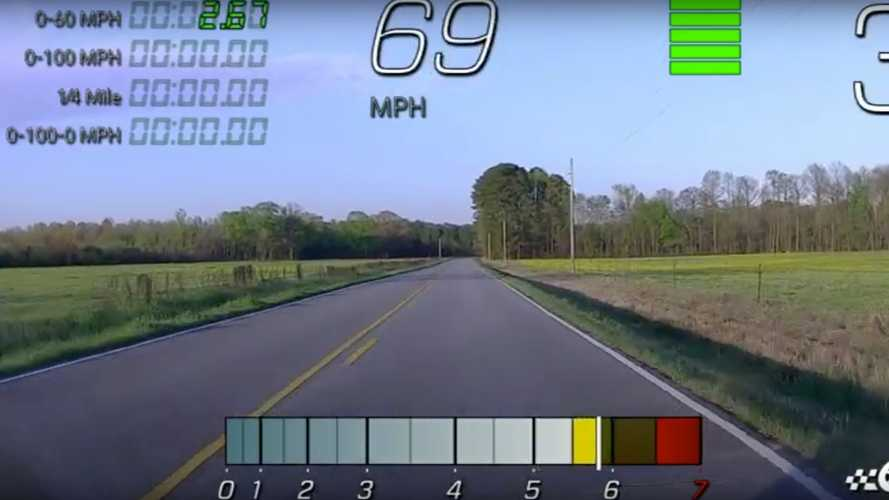 Stock Corvette C8 Sprints From 0 To 60 MPH In 2.67 Seconds
