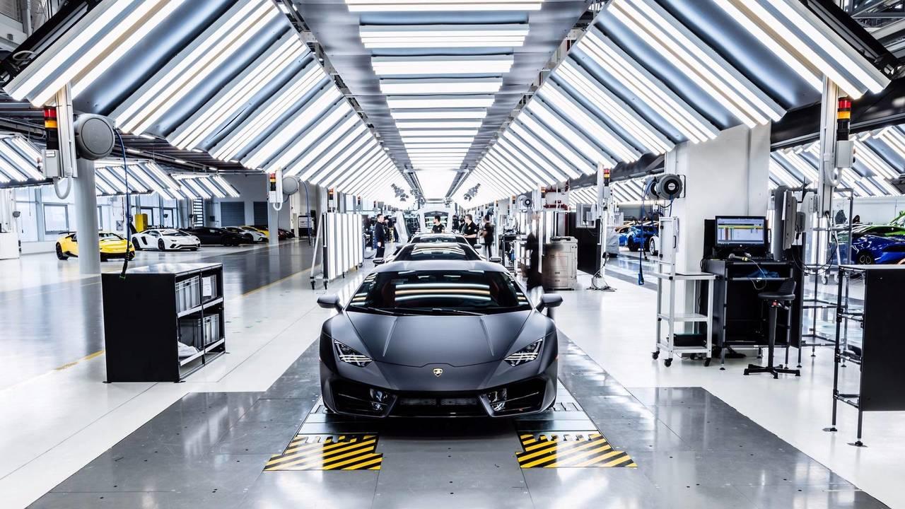 Usine Lamborghini