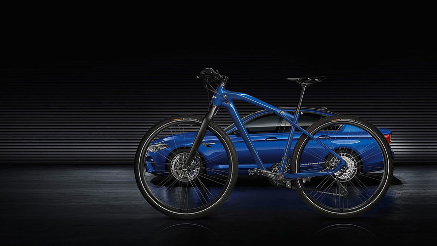 BMW M'in bisiklet versiyonu: M Bike Limited Carbon Edition