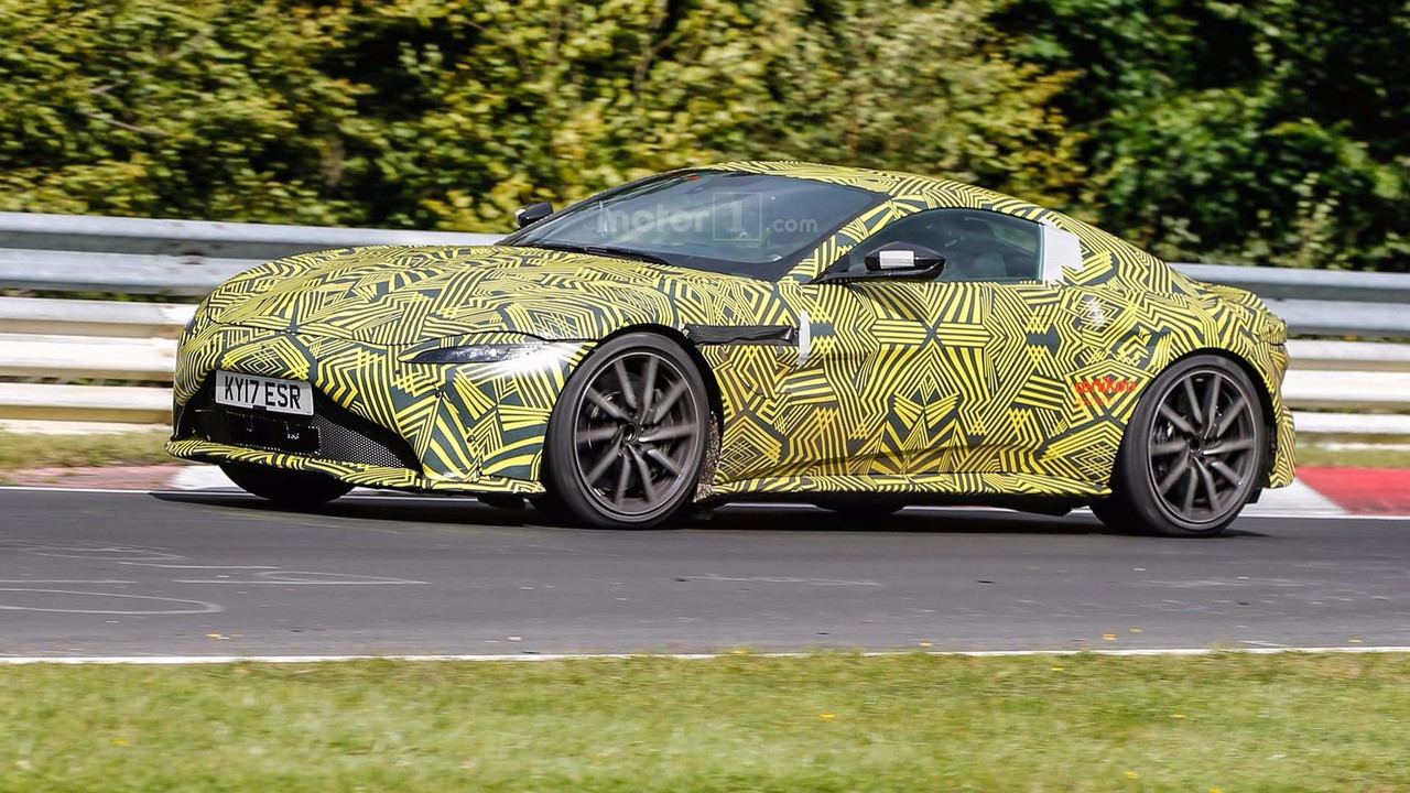 2019 Aston Martin V8 Vantage spy photo