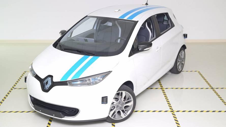 Renault innove avec un système d'évitement des obstacles autonome