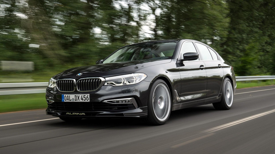 Alpina D5 S Heading To Frankfurt With AWD And Plenty Of Torque