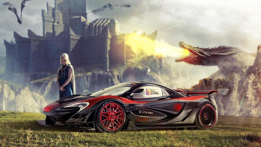 Daenerys Targaryen - McLaren P1 LM