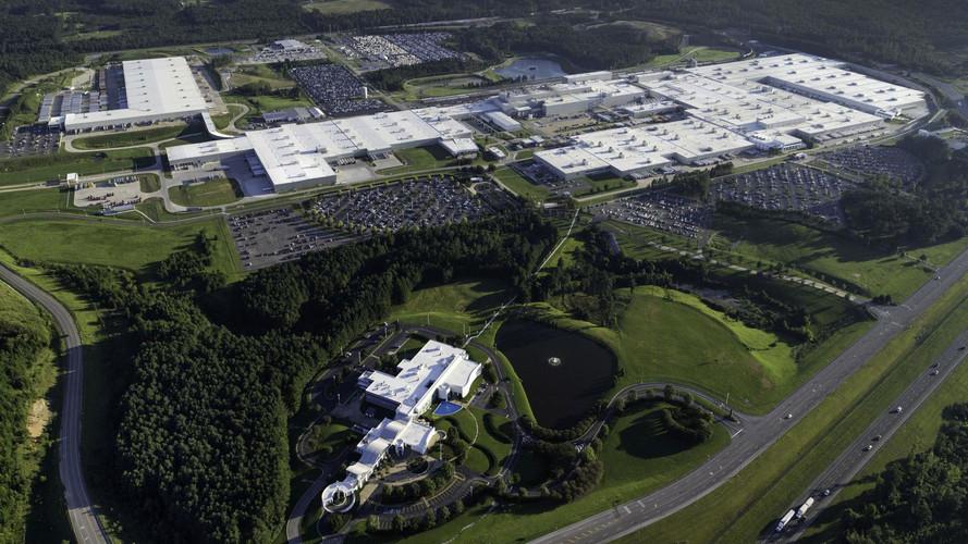Mercedes-gyár Alabamában