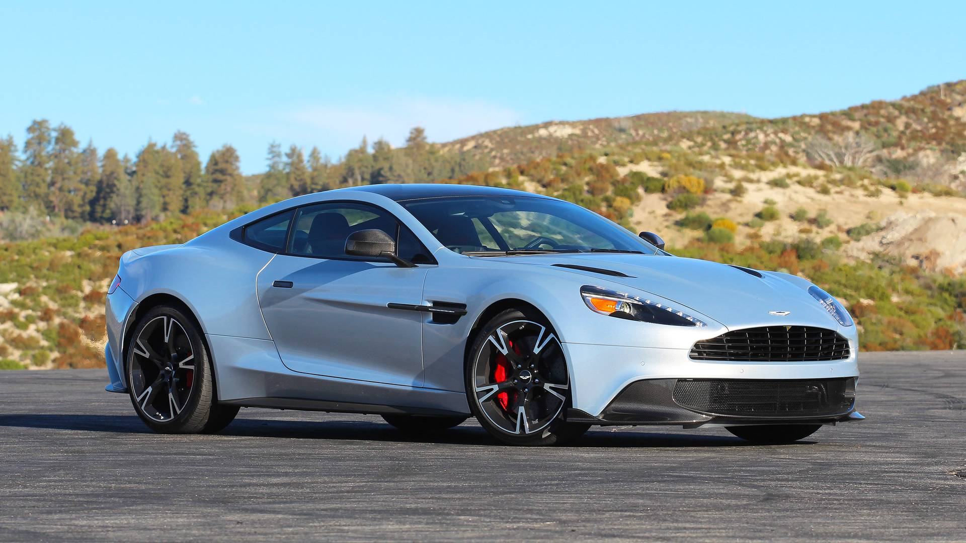 Aston Martin Vanquish S Coupe Review Going Out With A Bang - Aston martin vanquish coupe