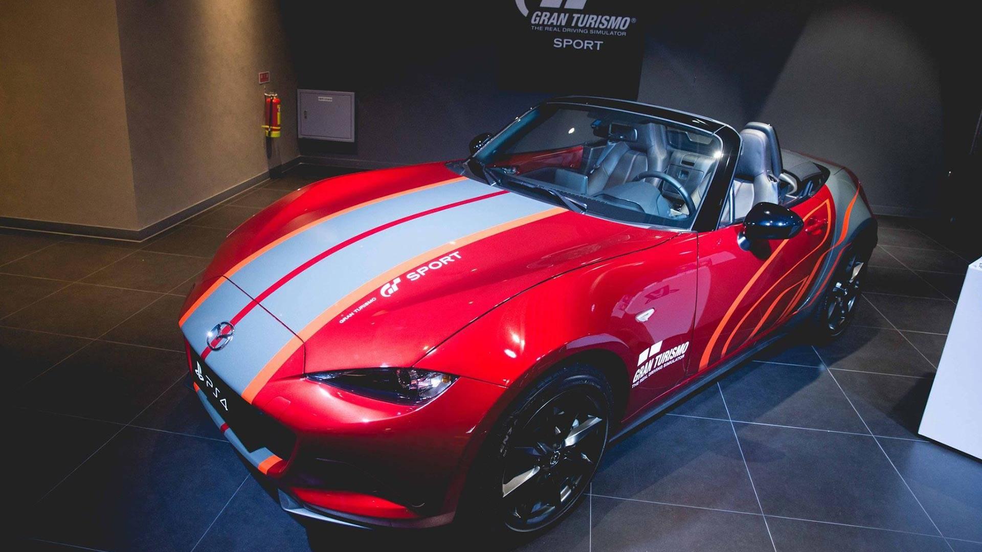$46,300 Gran Turismo Sport Bundle Includes Real Miata, 4K TV