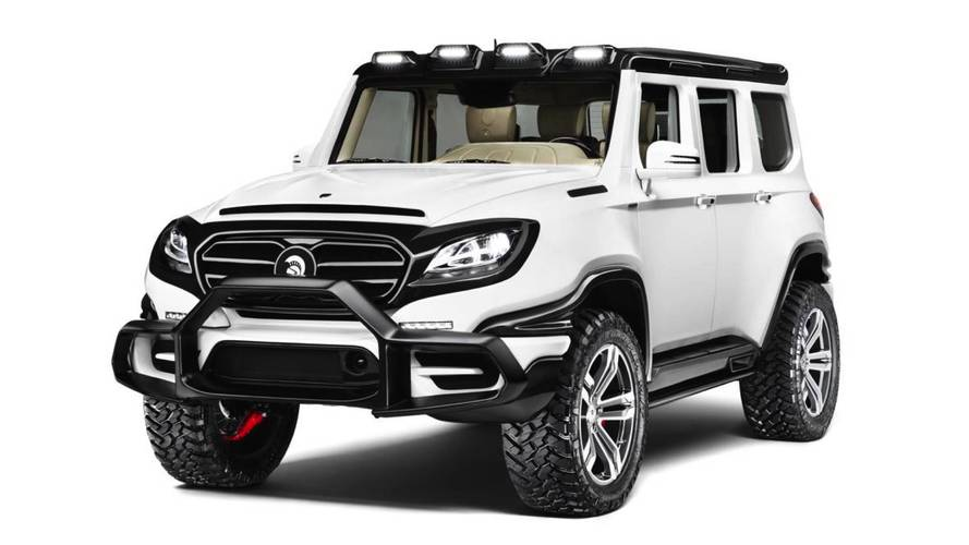 Ares Dresses G-Class As A Monster For Halloween, Gives It 760 HP