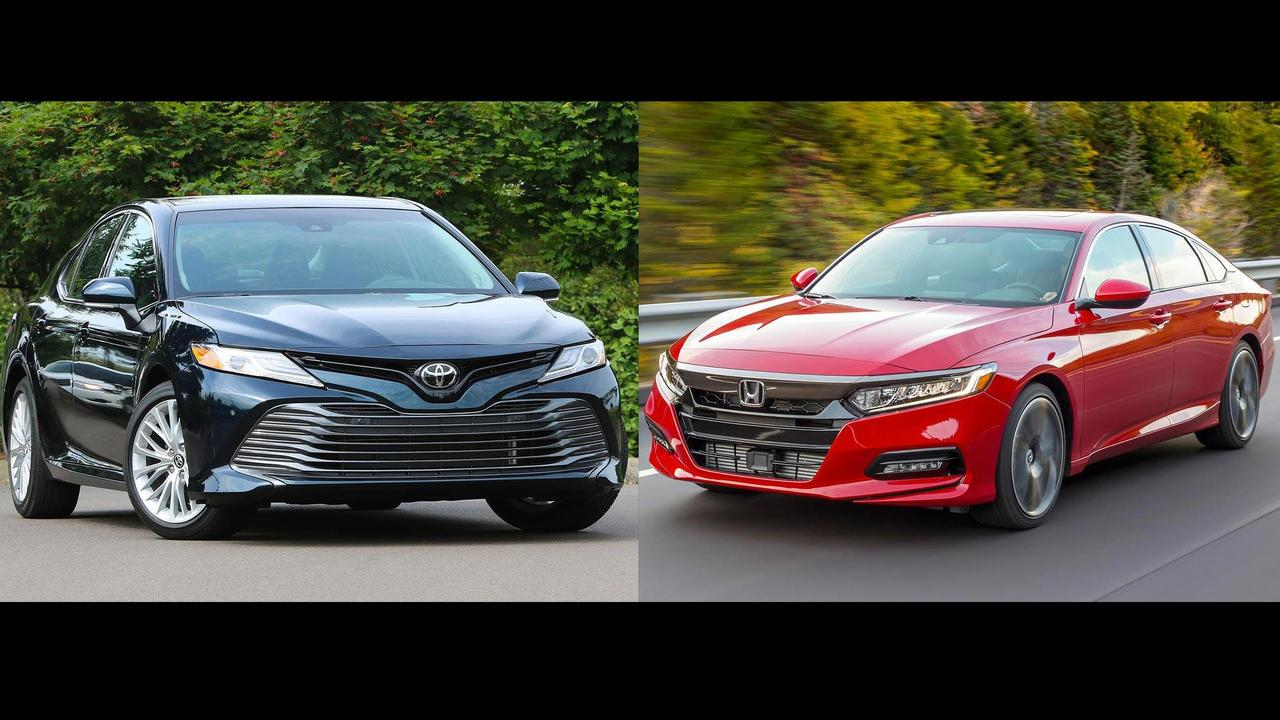 2018 Toyota Camry 2018 Honda Accord Comparison