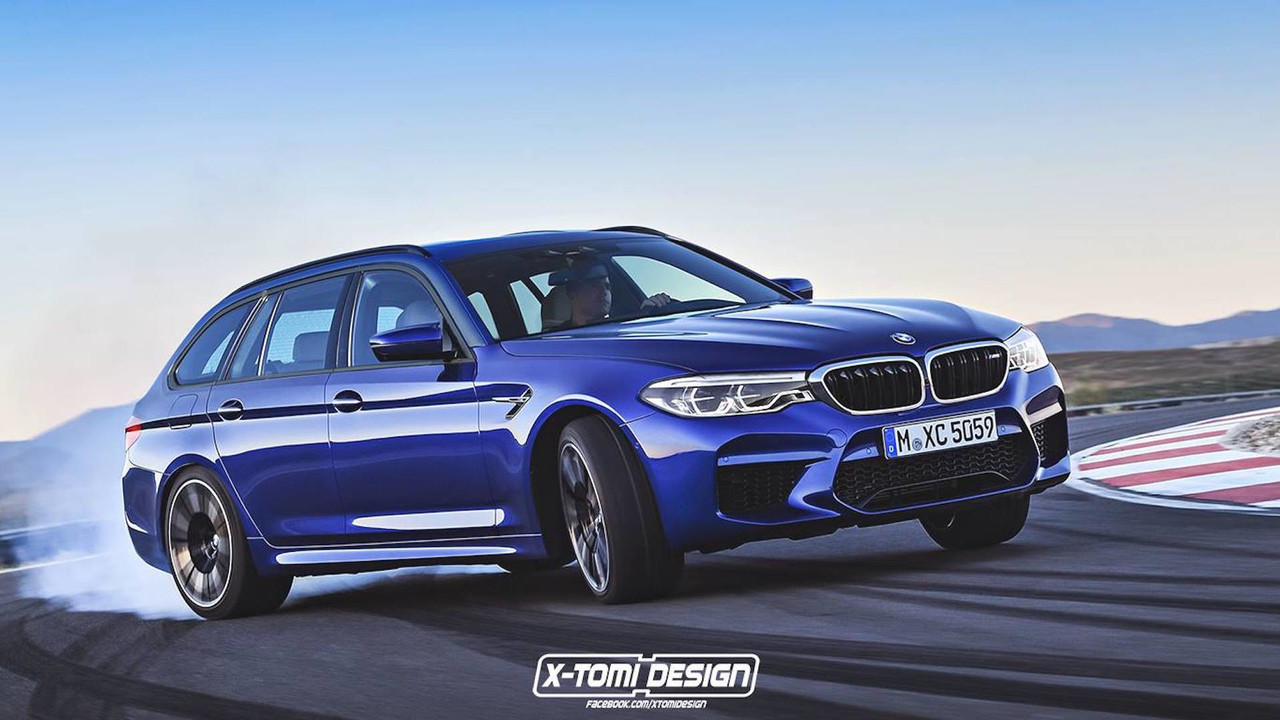 Bmw M5 Touring Is The 600 Hp Wagon We Never Knew We Needed