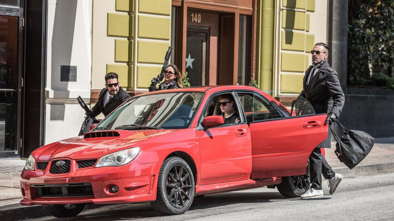Baby Driver Subaru WRX