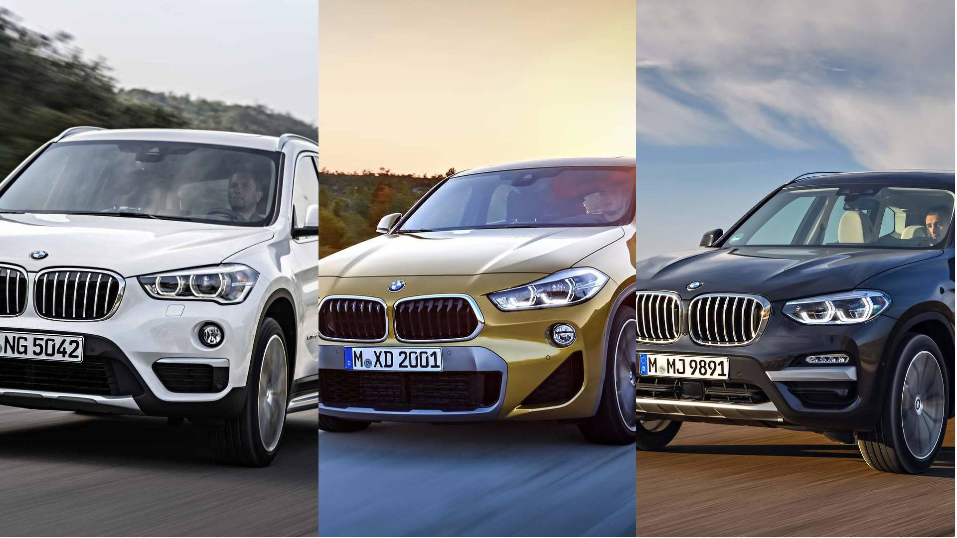 Bmw X1 Vs X2 Vs X3 Head To Head By Numbers