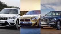 BMW SUV savaşı –X1, X2, X3