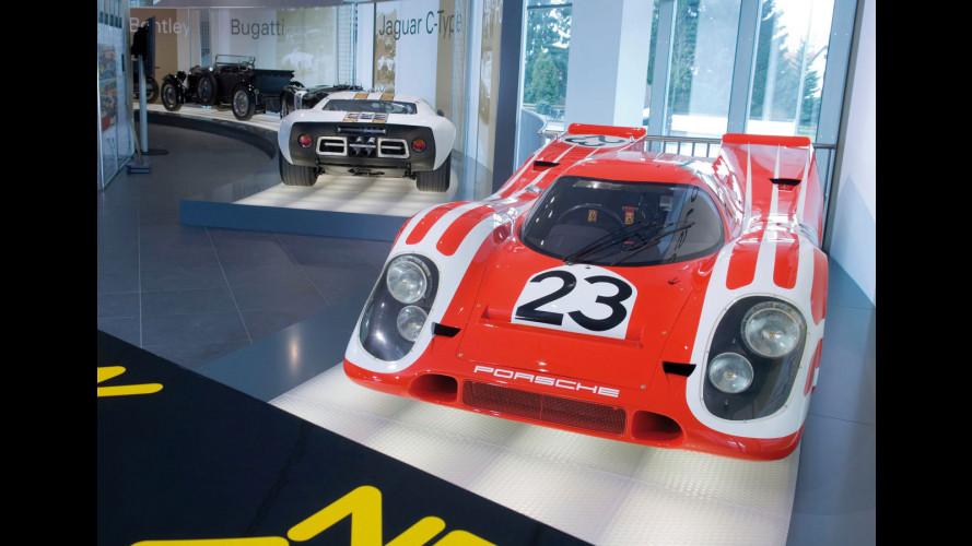 La leggenda di Le Mans all'Audi Museum