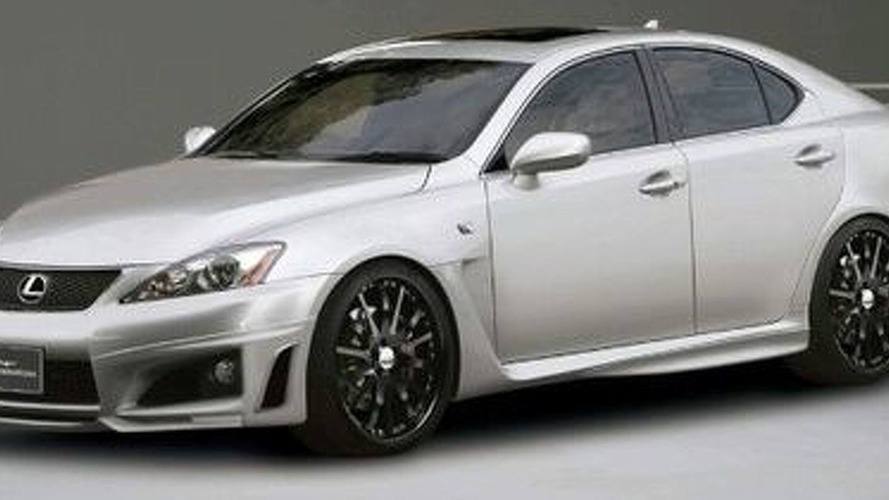 Wald International Slags up the Lexus IS-F