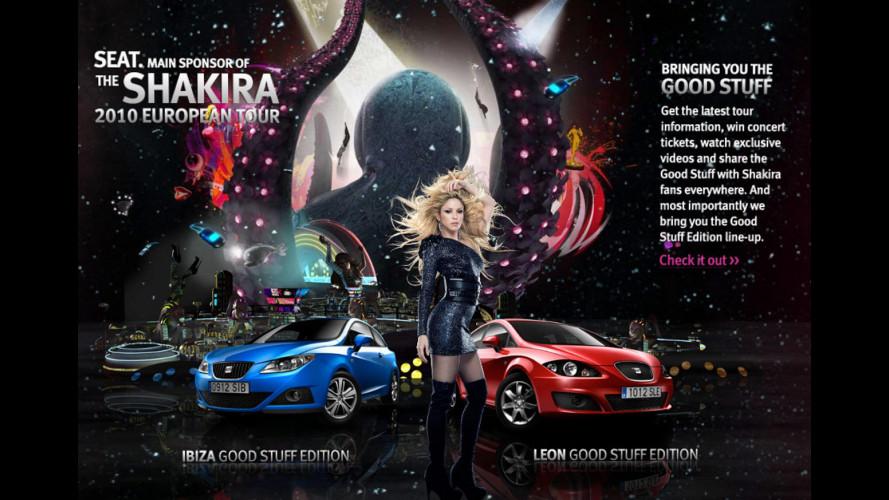 Arrivano le Seat Ibiza e Leon by Shakira