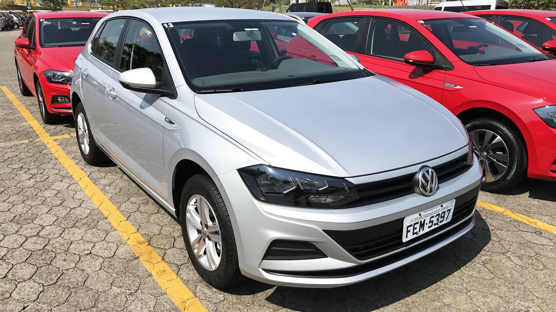 Novo VW Polo terá motor 1.6 com câmbio automático na Argentina 8512374da5819