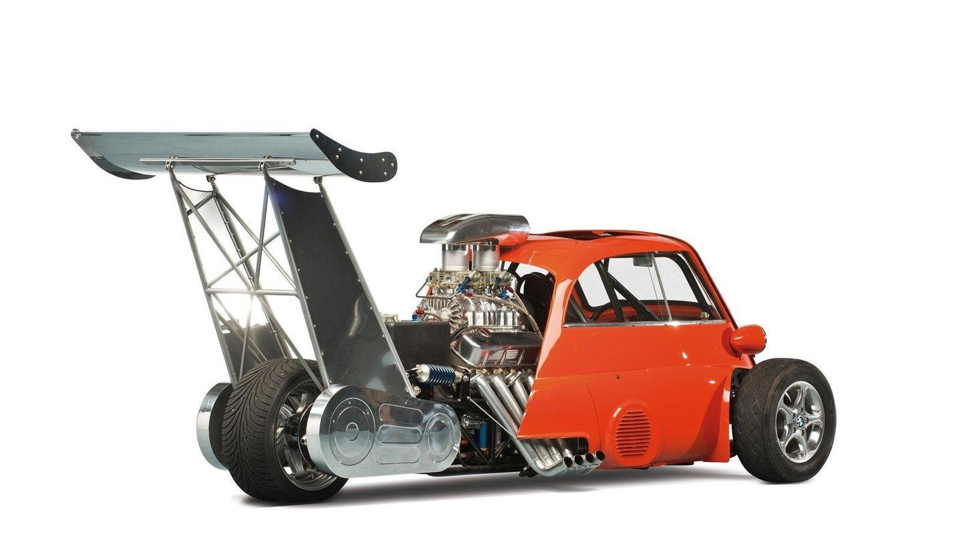 SPECIAL: 1959 BMW Isetta Whatta Drag with 730 hp Chevrolet