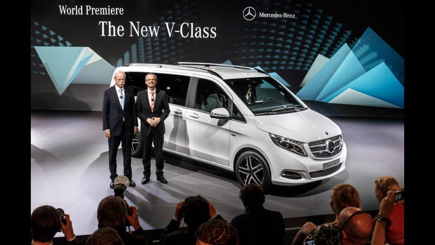Mercedes Classe V, il monovolume di superlusso è tornato