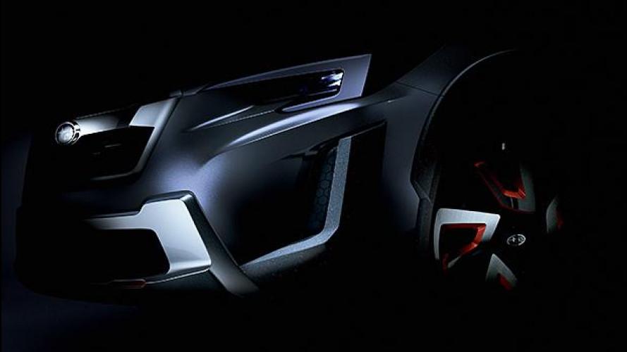 Subaru XV Concept, il futuro del crossover [VIDEO]
